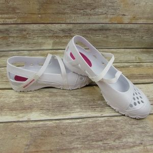 Skechers Cali Mary Janes Womens 9 Vented Shoes